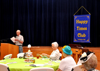 Happy Times Club meeting