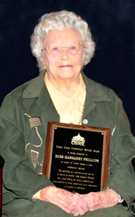 Nancy Glenn Award Recipient 2011-12 Miss Margaret Phillips